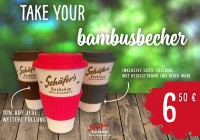 Take your Bambusbecher